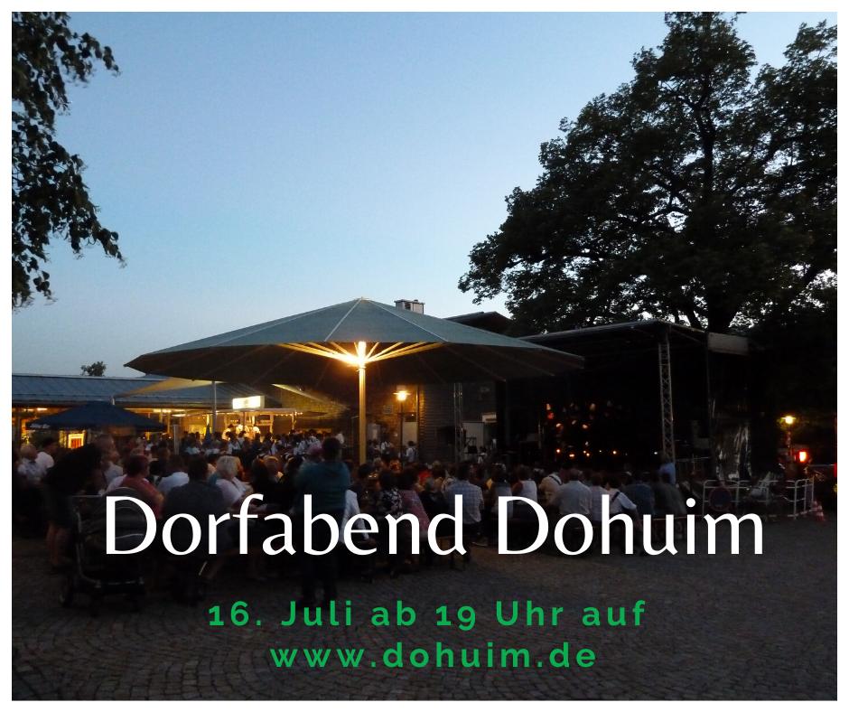 Burgberg Dorfabend – Dohuim