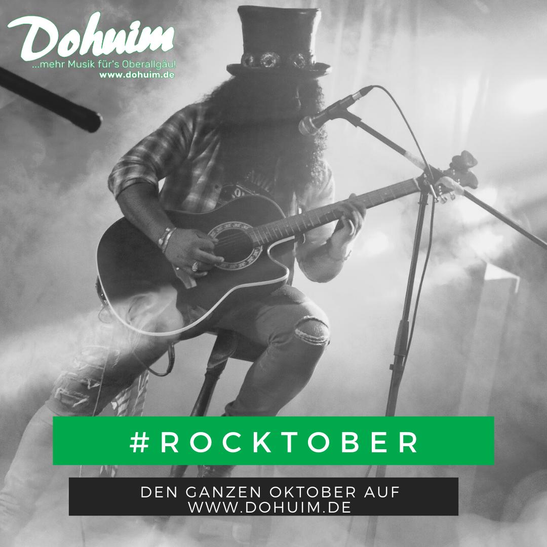 Wir machen den Oktober zum Rocktober